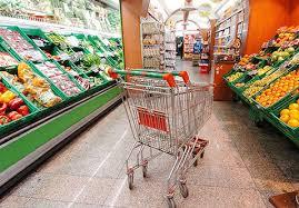 spreco alimentare  carrello supermarket