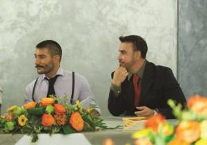 Max Loriga con il Presidente Onlus