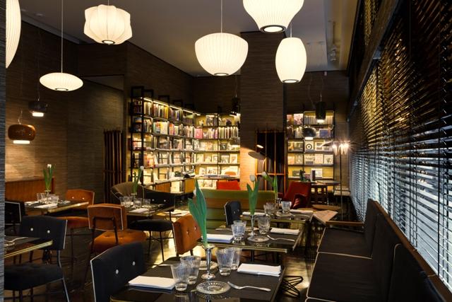 Arabesque2_sala da pranzo e libreria
