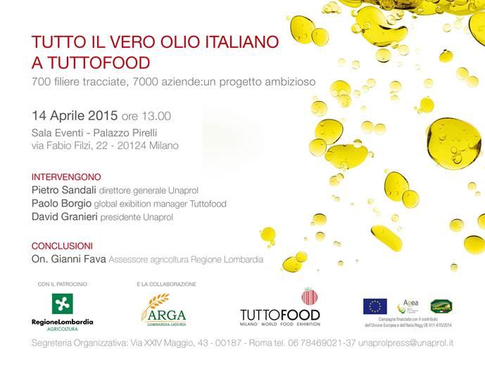 Invito Unaprol Milano