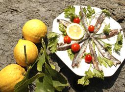 Cinque Terrre acciughe e limoni