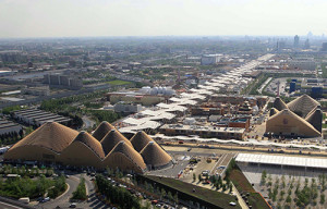 Expo panoramica dall'alto