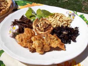 insetti commestibili piatto