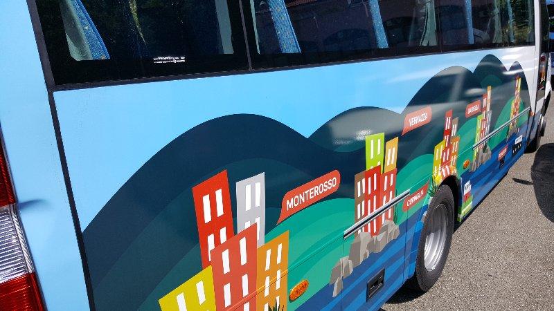 Explora5terre dettaglio bus