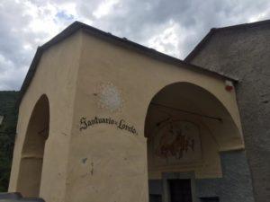 Triora Santuario Loreto esterno
