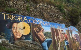 Triora murales su magia