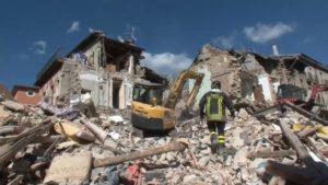 Amatrice sisma rovine