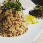 quinoa e micro ortaggi