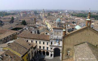 Crema - Piazza Duomo dall'alto