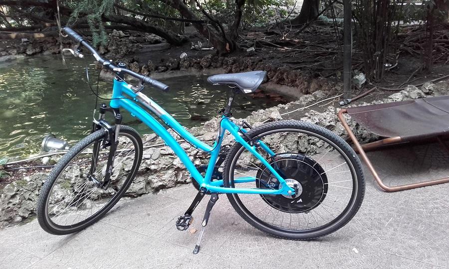bicicletta con pedalata assisitita freeDUCk