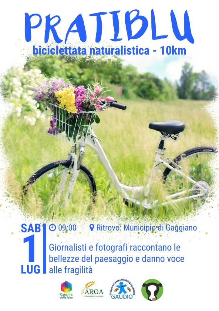 #PratiBlu biciclettata benefica