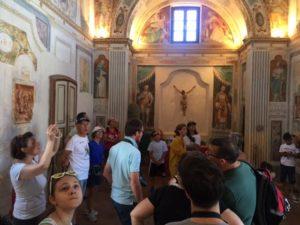 #PratiBlu visista a Certosa di Vigano