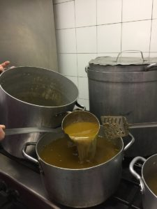 La Bigolada, preparazione condimento