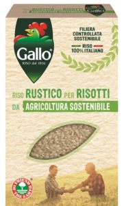 Riso Gallo da agricoltura sostenibile